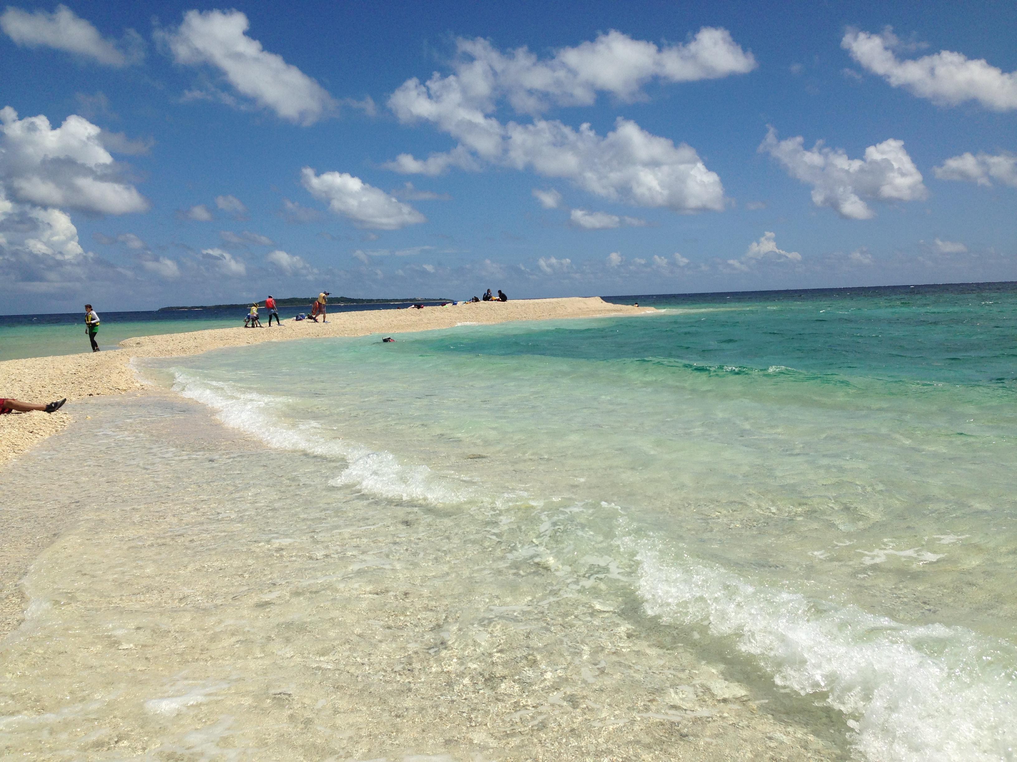 バラス島の波2