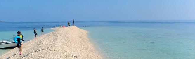 石垣西表のバラス島