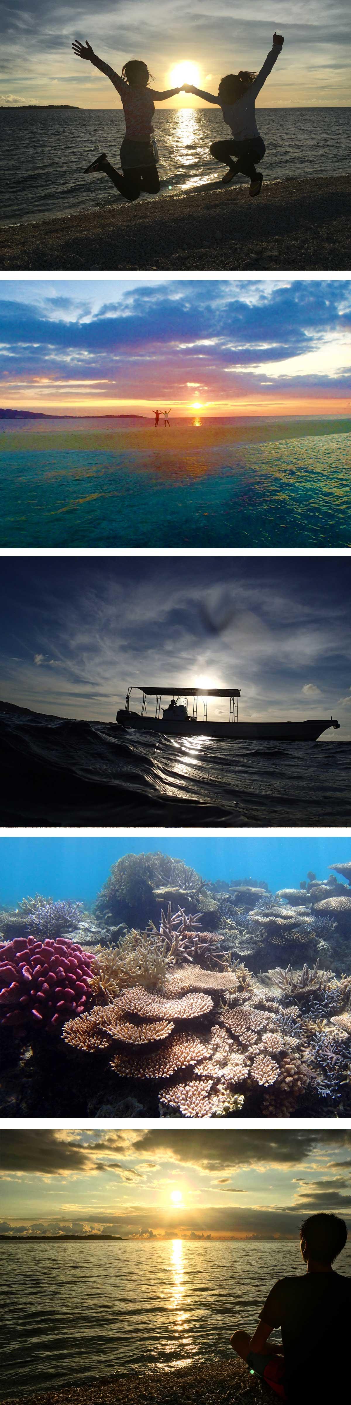 サンセットバラス島